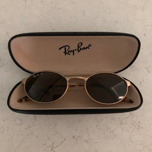 Vintage Ray Ban Polarized oval sunglasses